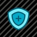 antivirus, protection, scurity, shield, virus icon