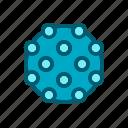 corona, coronavirus, disease, flu, virus icon