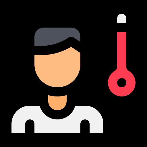 Avatar, coronavirus, fever, measure, temperature, thermometer, corona icon - Free download