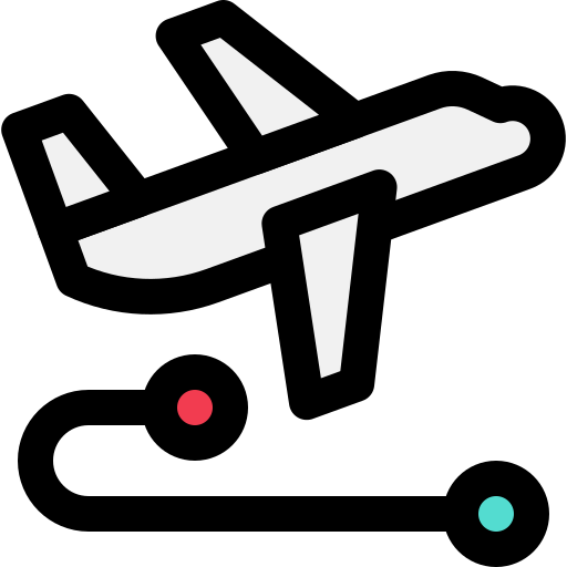 Coronavirus, plane, route, transport, travel, corona, corona virus icon - Free download