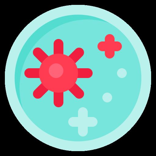 Bacteria, coronavirus, covid-19, germ, petri dish, research, corona icon - Free download