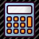 calculator, math, calculate, accounting, finance