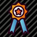medal, award, winner, trophy, achievement, reward, ribbon