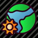 global, globe, world, earth, setting