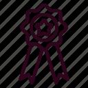 badge, award, achievement, success, ribbon