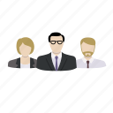 avatar, corporate, group, office, profile, team icon
