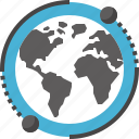 network, business, communication, global, international, earth, world icon