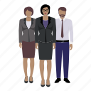 avatar, character, corporate, female, male, person icon