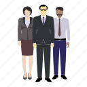 avatar, avatars, colour, corporate, mixed race, person icon