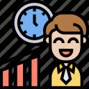 professionalism, businessman, efficiency, time, management