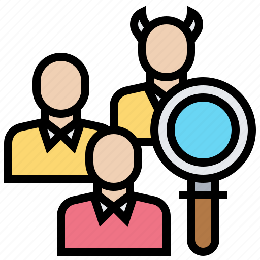 Corruption, identify, latent, search, seek icon - Download on Iconfinder