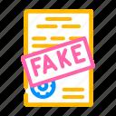 fake, document, corruption, problem, money, bag