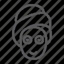 beauty, face, female, mask, skin, spa, woman icon