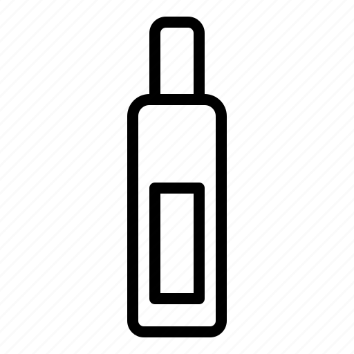 bottle, container, cosmetic, perfume icon