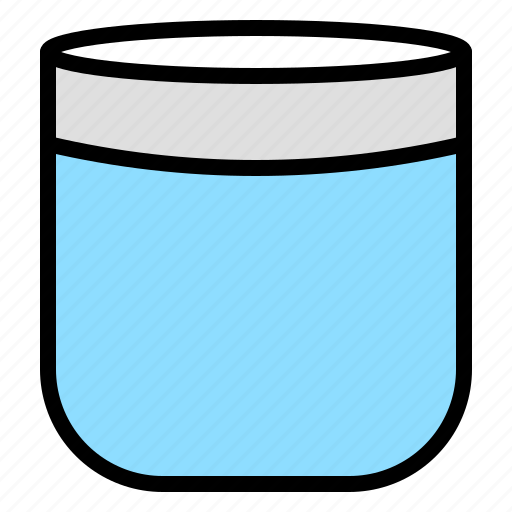 container, cosmetic, cream, jar, lotion icon
