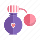 aroma, bottle, fashion, fragrance, perfume, scent, spray icon