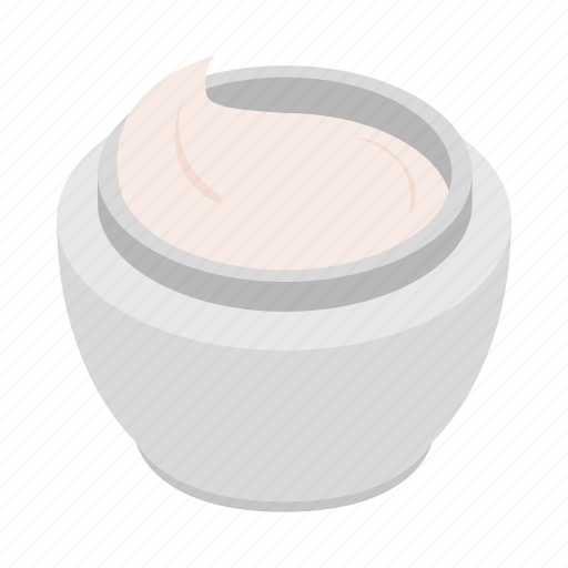body, care, cream, isometric, jar, lotion, skin icon