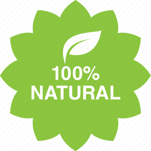 Cosmetics, hundred, leaf, natural, percent icon - Download on Iconfinder
