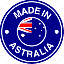 australia, australian, flag, made icon