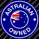 australia, australian, flag, owned