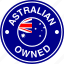 australia, australian, flag, owned icon