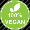 hundred, leaf, natural, percent, vegan, vegetarian