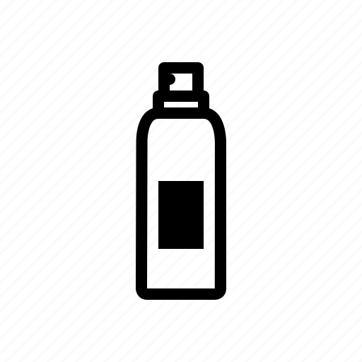 cosmetic, girl, packaging, spray, woman icon
