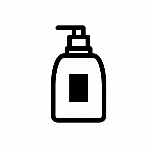 cosmetic, girl, lotion, packaging, woman icon