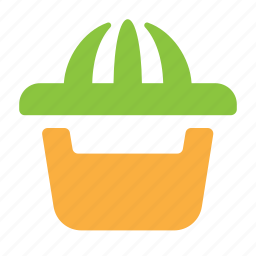 citrus, juice, kitchen, squeezer icon