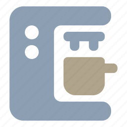 coffee, kitchen, machine icon