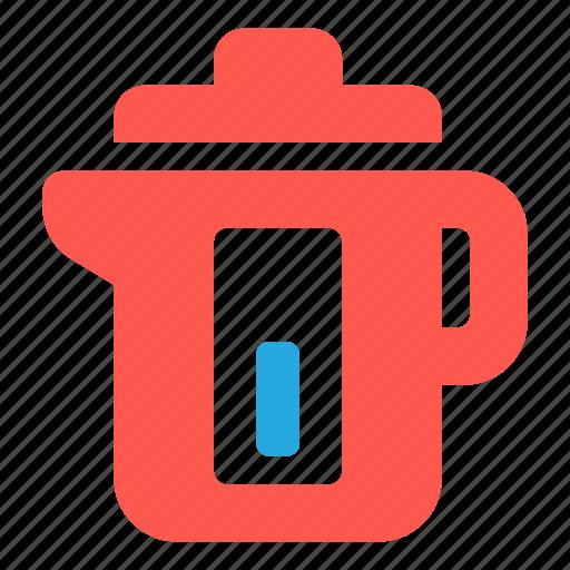 electric, kettle, teapot icon