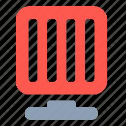 fan, heat icon
