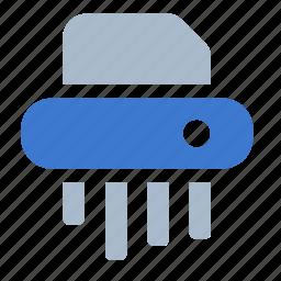 office, paper, shredder icon