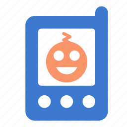 baby, baby monitor, child, display, monitor, screen icon