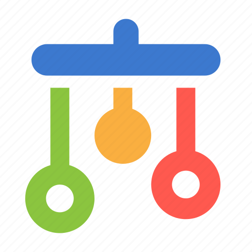 baby, carousel, infant, mobile, toy icon