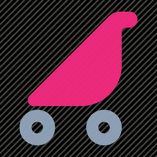 baby, cane, child, stroller icon