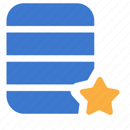 base, database, favorite, repository icon