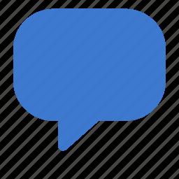 bubble, chat, comment, speech bubble icon