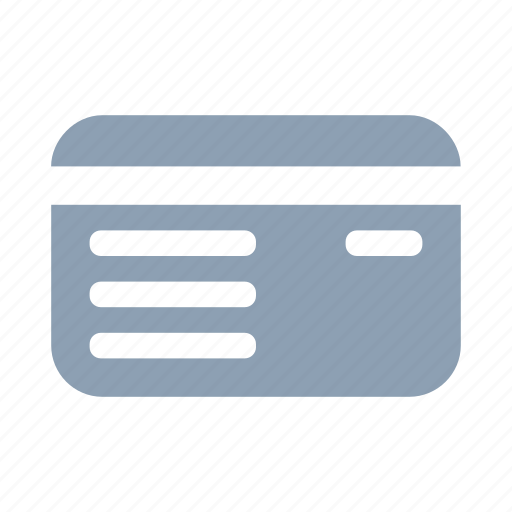 bank, card, credit, debit card, finance, money, payment icon