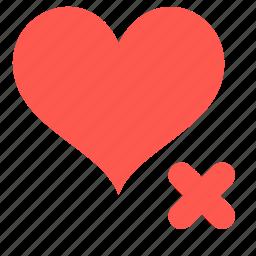 delete, favorite, heart, like icon
