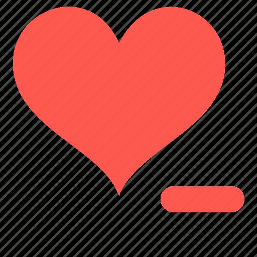 favorite, heart, like, remove icon