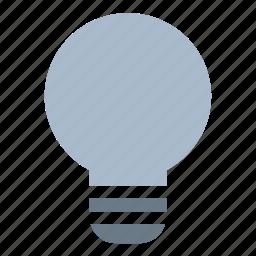 bulb, energy, lamp, off icon
