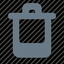 bin, recycle, recycle bin, trash, trash box icon