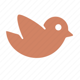 animal, animals, bird, nature icon