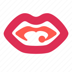 face, human, kiss, lips, mouth icon