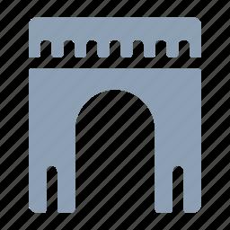 arch, architecture, gates, showcase, sight icon
