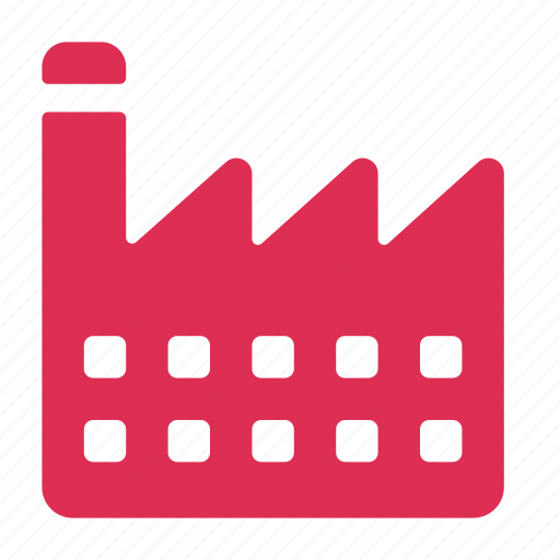 company, corporation, factory, industry, office icon