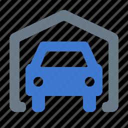 auto, car, garage, parking, transport, vehicle icon
