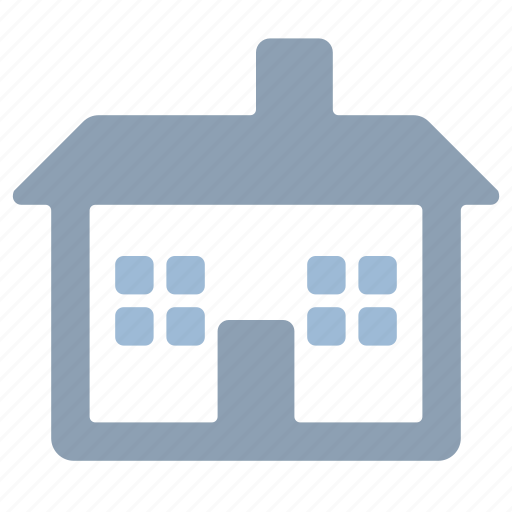building, cottage, estate, home, house icon