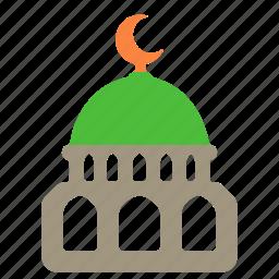 islam, mosque, muslim, religion, sight icon